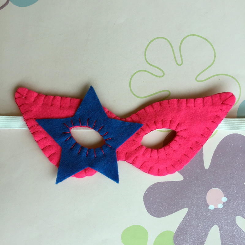 mascara de carnaval estrela