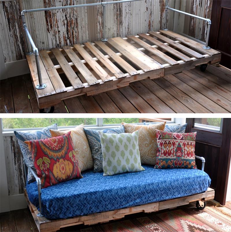tutorial sofá de palete