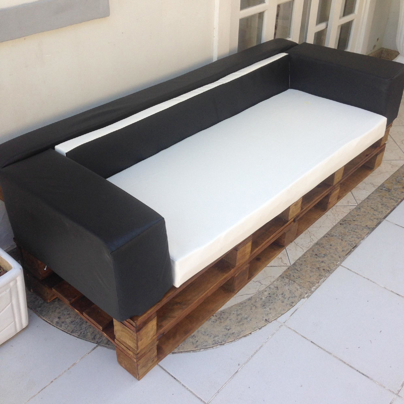 como fazer sofá de palete passo a passo
