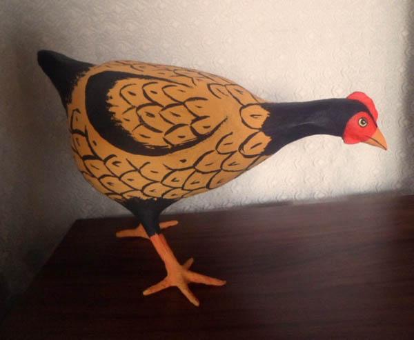 papietagem na galinha
