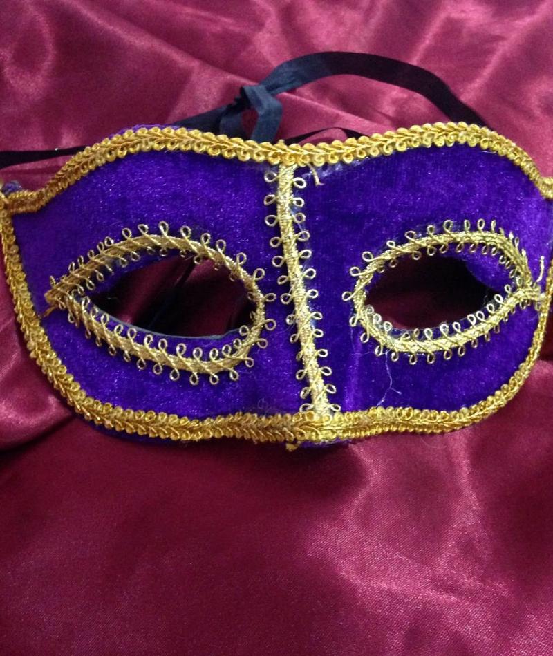 como fazer mascara de carnaval