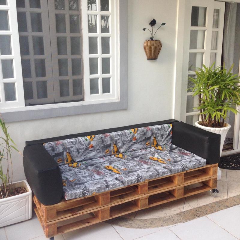 sofá de palete facil