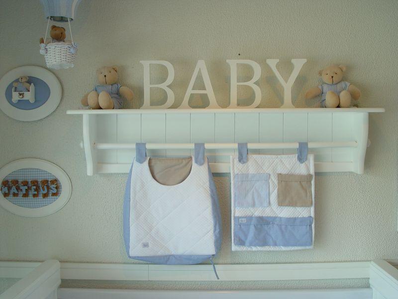 prateleira para quarto de bebe menino
