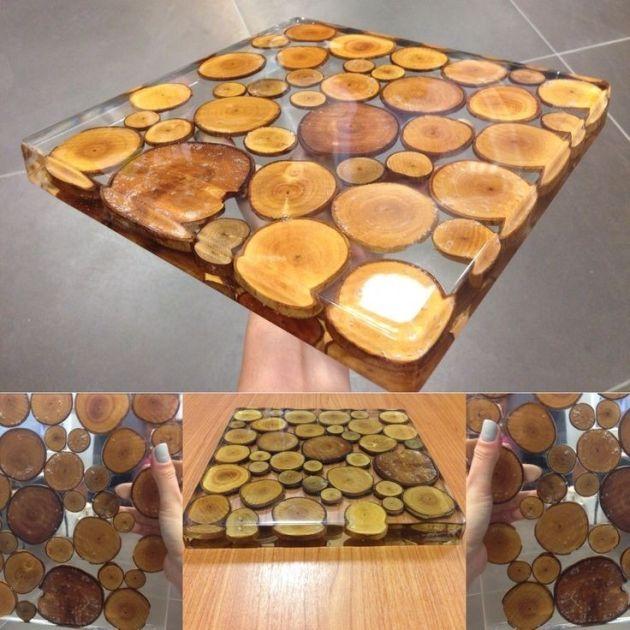 Artesanato Cobre Bolo Passo A Passo ~ artesanato de resina cristal 15 Vale o Clique!
