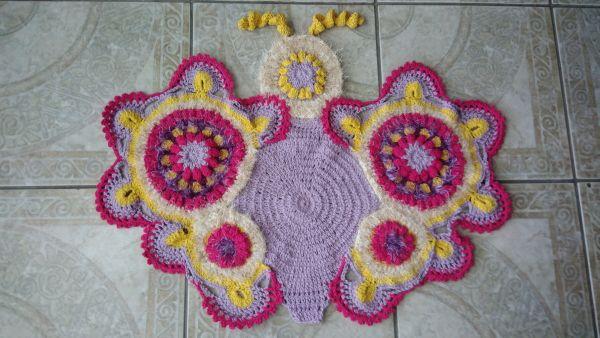 tapete borboleta cores 11