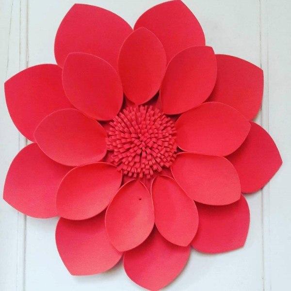 flores gigantes de eva