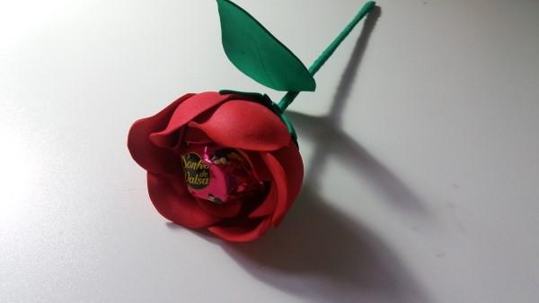 rosa de eva com bombom