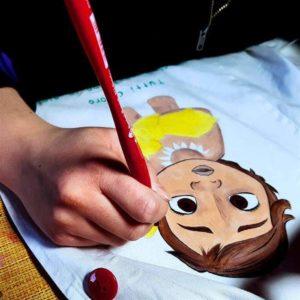 pintura moana baby